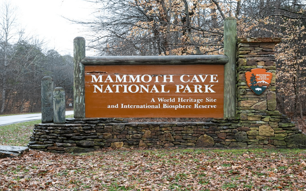 Mammoth Cave Entrance Gate