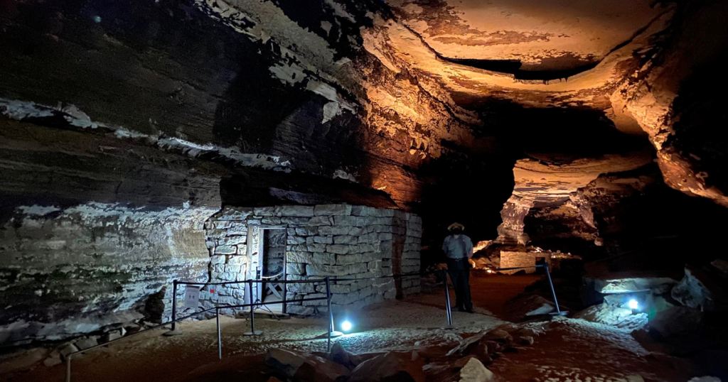 Small Huts in Mammoth Cave National Park