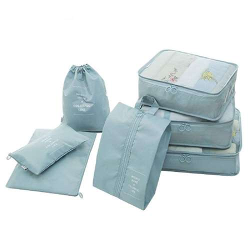 Packing Cubes with Shoe Bags
