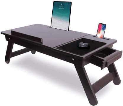 Wooden Adjustable Foldable Table